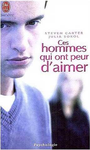 couverture du livre ces hommes qui ont peur d 'aimer