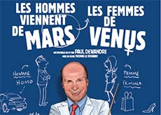 Mars et Vénus au théâtre