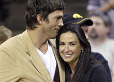 Cougar Demi Moore et Aston Kutcher