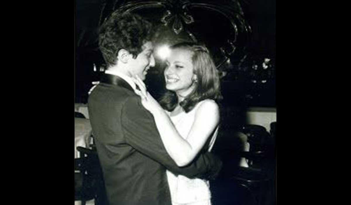 Véronique Sanson et Michel Berger danse en couple