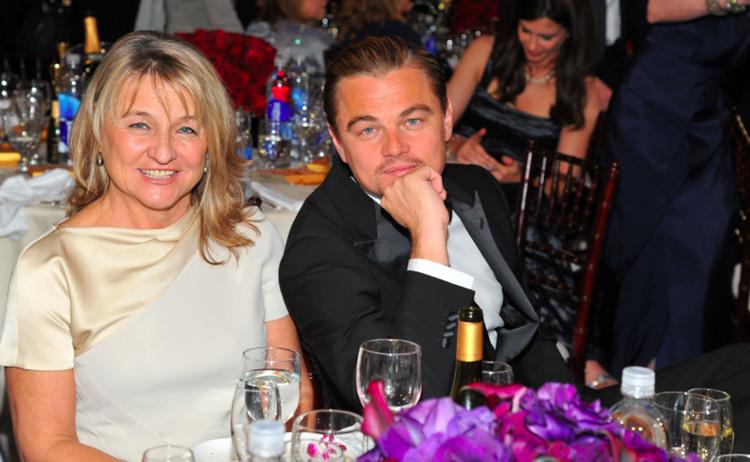 Léonardo Di Caprio et Sa mère