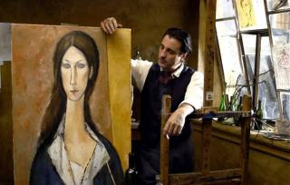 Le film Modigliani joué par Andy Garcia avec Elsa Zylberstein