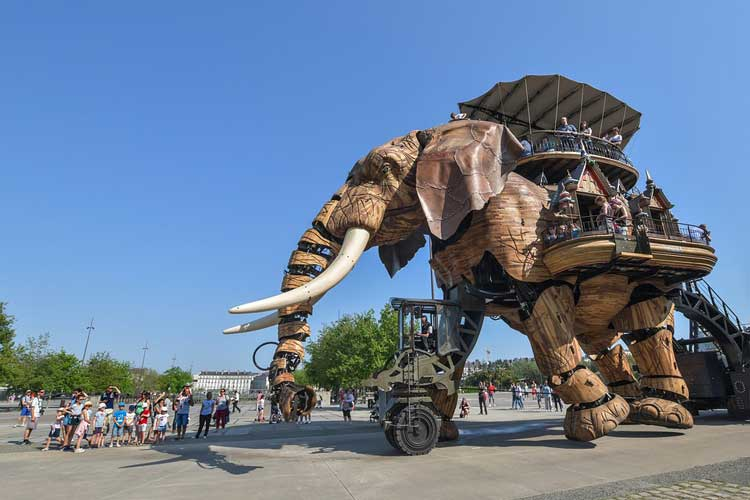 éléphant des machines de Nantes