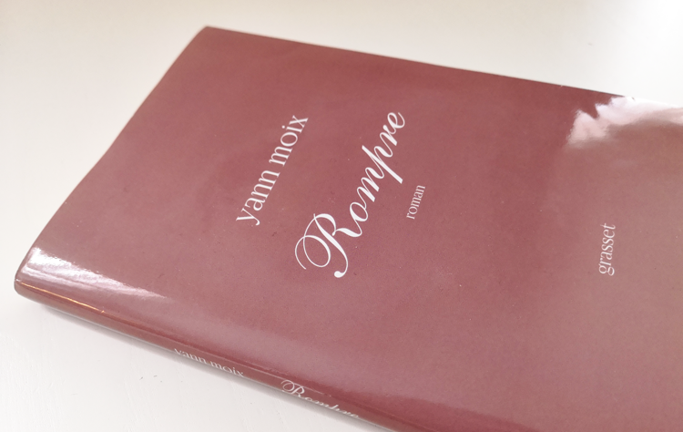 Livre Rompre de Yann Moix