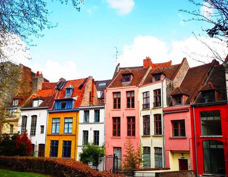 façades colorées du vieux Lille