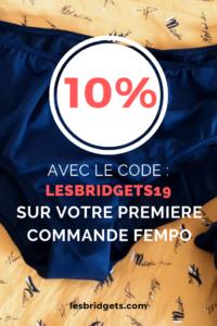code promo fempo de 10% sur votre première commande