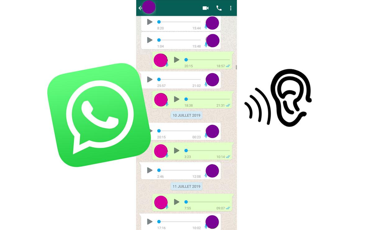 Le fléau des longues conversations whatsapp par messages audio