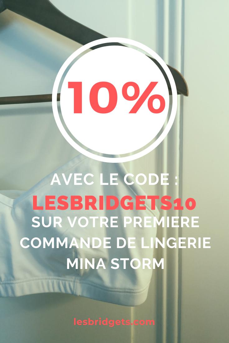 Code promo Mina Storm Brassière en coton