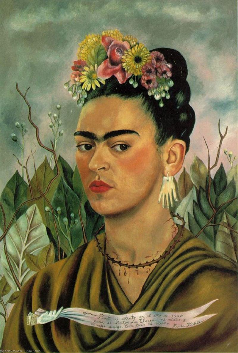 Frida Kahlo autoportrait