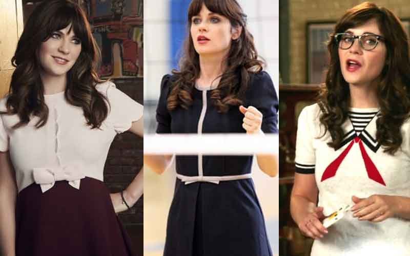 3 robes jessica day dans new girl