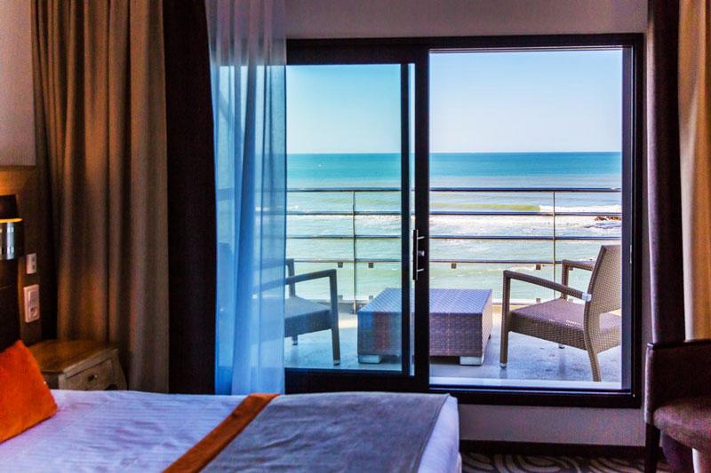hotel atlantic chambre avec vue sur mer