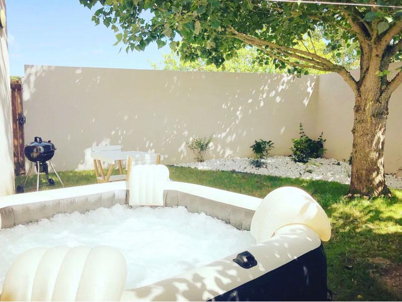 airbnb jacuzzi sables d'olonne