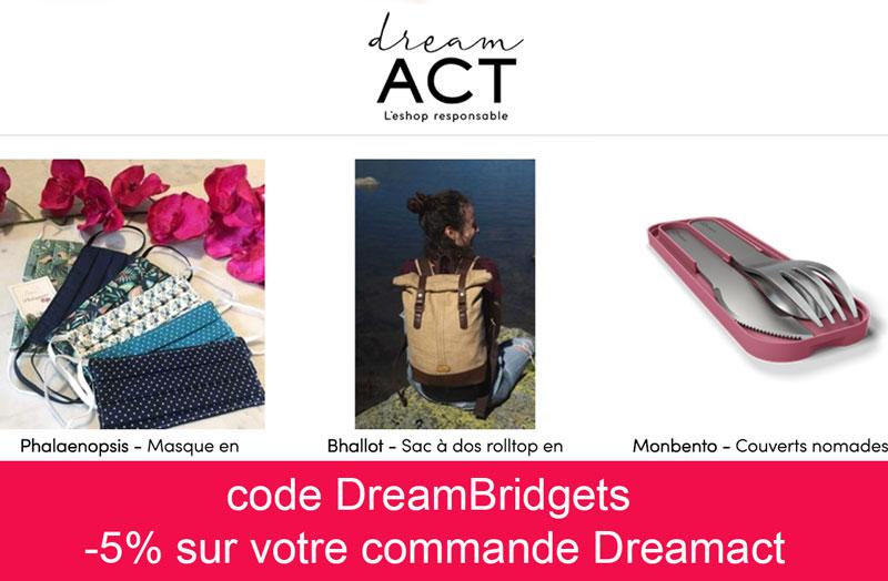 code promo dreamact